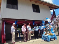 More police houses handed over