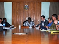 RAMSI briefs cabinet on transition